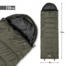 PENTAGON SENTINEL SLEEPING BAG 220GR D19001-06