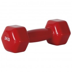 AMILA 90505 DUMB BELL 3KG RED