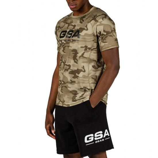 GSA MEN F.TERRY ORGANIC GEAR SHORTS 1717124-01