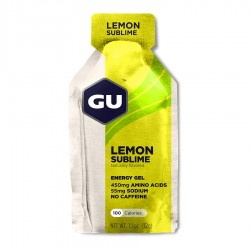 GU ENERGY GEL LEMON S.
